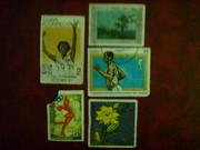 почтовые марки зарубежные