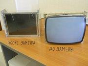 Замена мониторов ЭЛТ CRT на LCD TFT ЖКИ на ЧПУ станка ремонт.