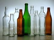 Продам стеклянную бутылку новую оптом