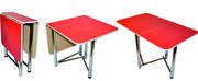 Обеденные столы оптом от производителя. Хром.