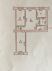 3-х комн квартира,  Центр,  2/5 эт,  Распашонка. Продажа по цене собствен