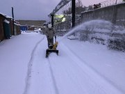 Прокат снегоуборщика и уборка снега оператором в Чебоксарах