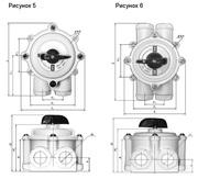 Пакетный выключатель ПВ,  пакетный переключатель ПП,  выключатель ВУ КУ