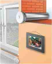 Приточные вентиляционные клапаны CleanAir