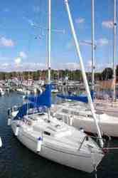 Шведская яхта Albin Viggen 23 фута.